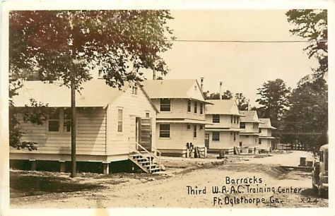 Fort Oglethorpe WAC barracks