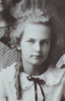 Photo of Ruth—She was Aunt Marian's youngest sister. This photo was taken 15 or 20 years before Aunt Marian enlisted in the WACs.