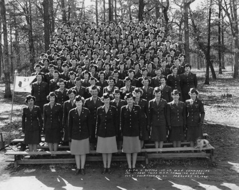 1945 Fort Oglethorpe, Company 11, 21st Regiment, WAC