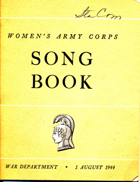 WAC Songbook cover, 1944