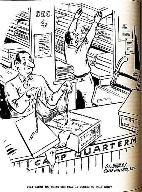 1943 WAC cartoon