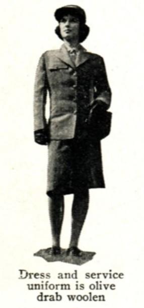 WAC dress uniform