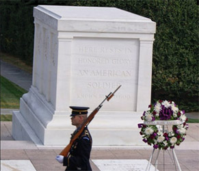 Tomb of the Unknown Soldier  (Source Wikipedia)